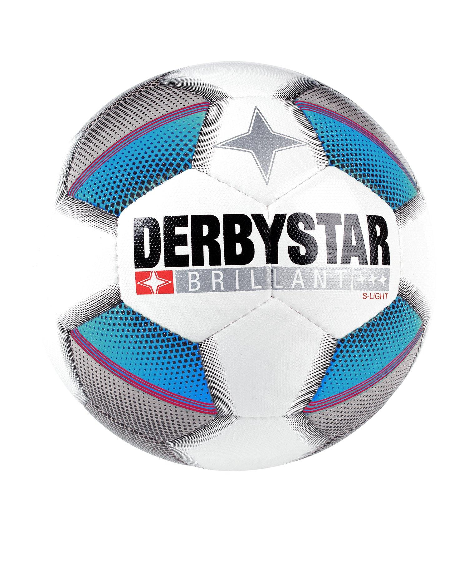 Derbystar Brillant S- Light 290 Gramm Trainingsball F162 - weiss