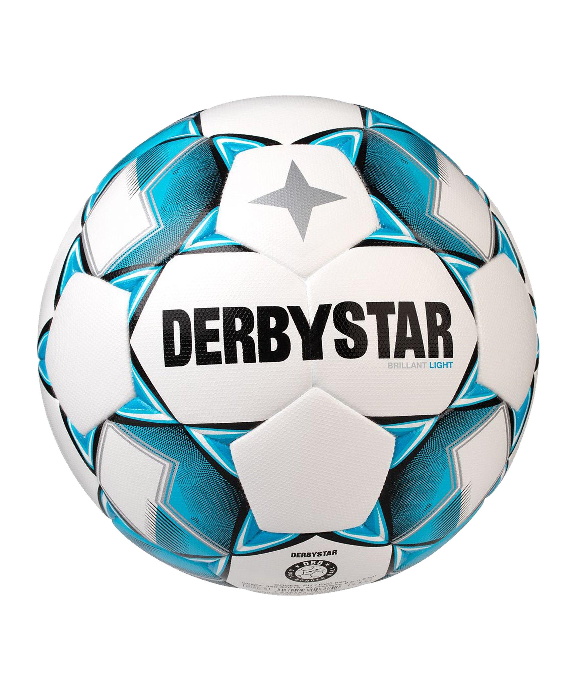 Derbystar Brillant Light DB v20 Trainingsball F162 - weiss