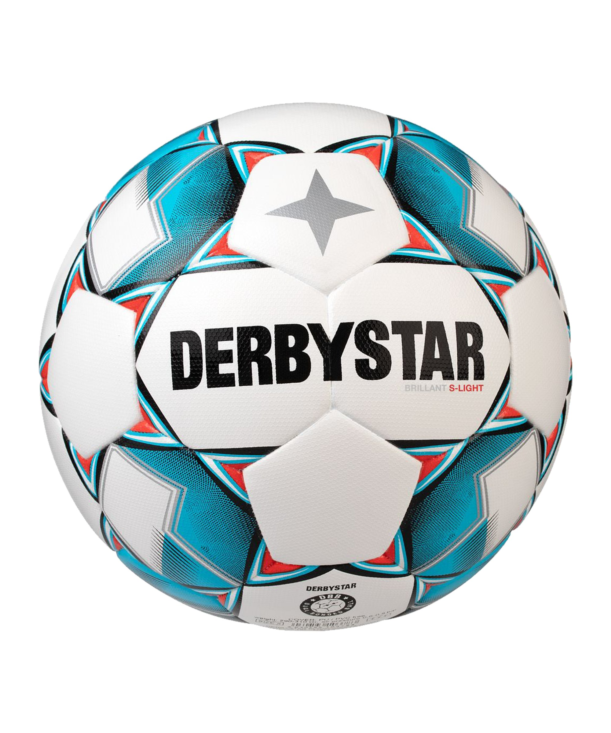 Derbystar Brillant SLight DBv20 Trainingsball F162 - weiss