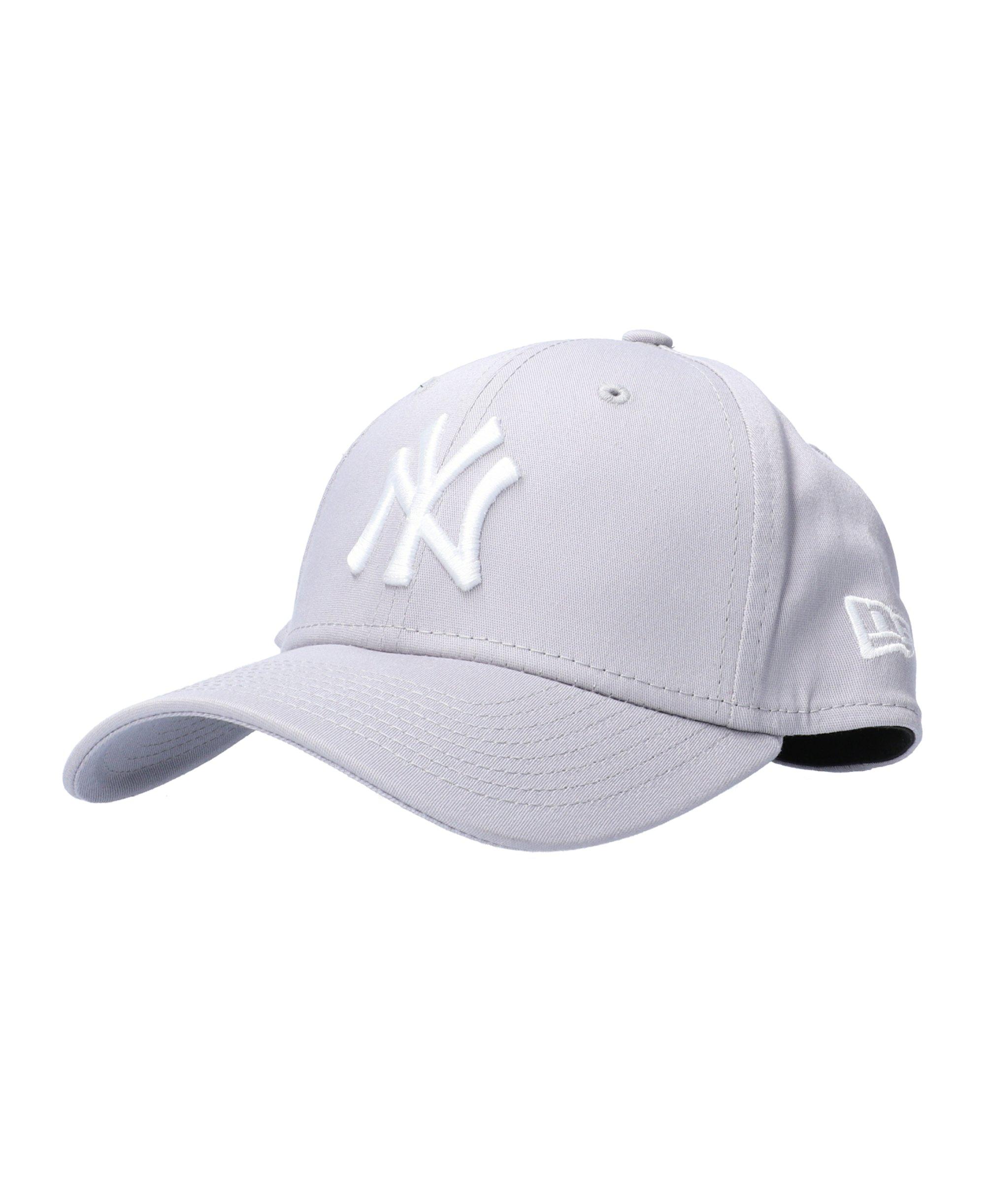 New Era NY Yankees 39Thirty Cap Grau Weiss - grau