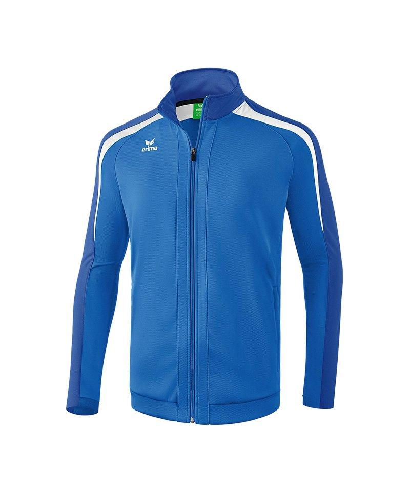 Erima Liga 2.0 Trainingsjacke Kids Blau Weiss - blau