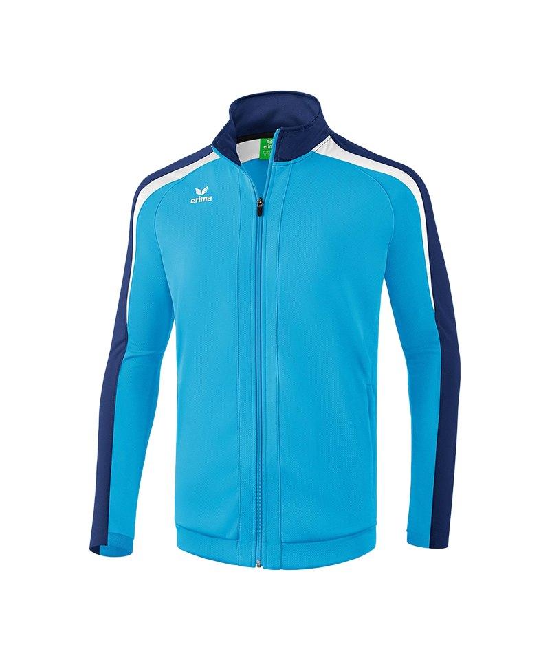 Erima Liga 2.0 Trainingsjacke Hellblau Blau Weiss - blau