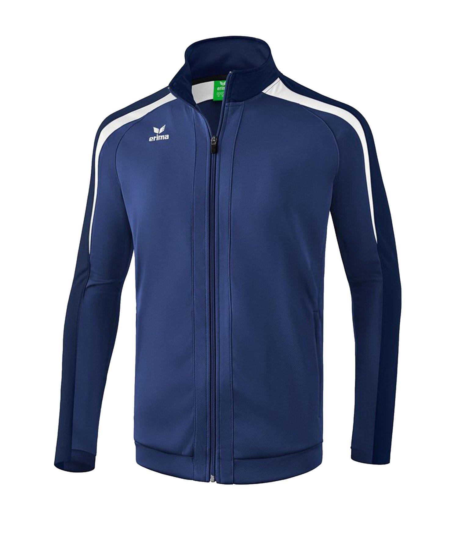 Erima Liga 2.0 Trainingsjacke Dunkelblau Weiss - blau