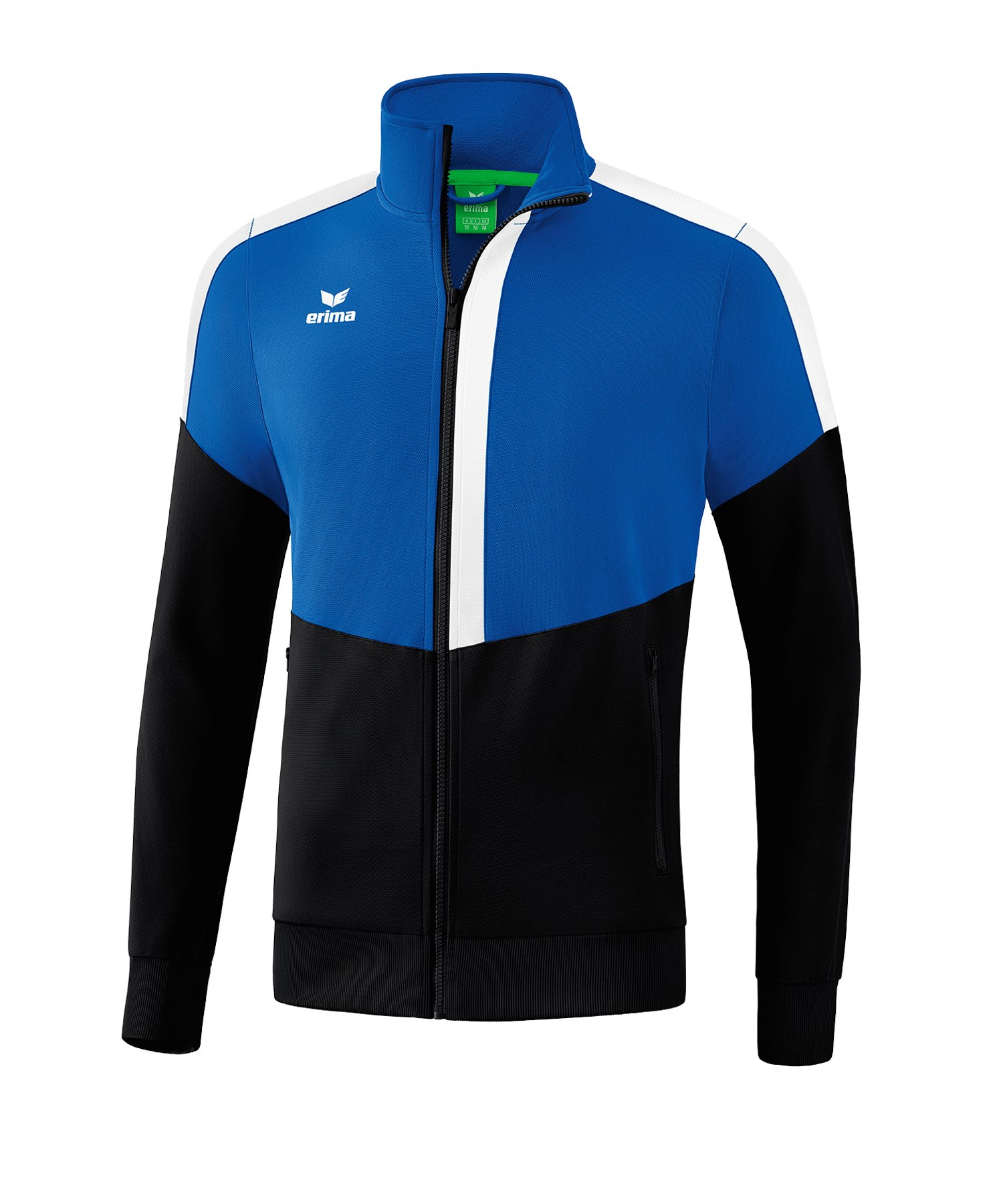 Erima Squad Trainingsjacke Blau Schwarz - blau