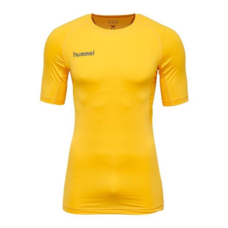 Hummel First Performance Shirt kurz Kids F5001 - gelb