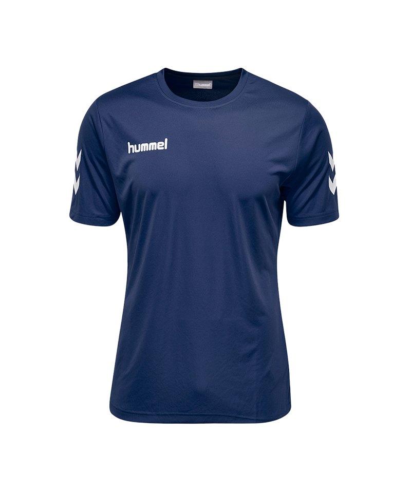Hummel Core Polyester T-Shirt Kids Blau F7026 - blau