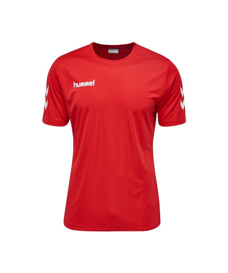 Hummel Core Polyester T-Shirt Kids Rot F3062 - rot