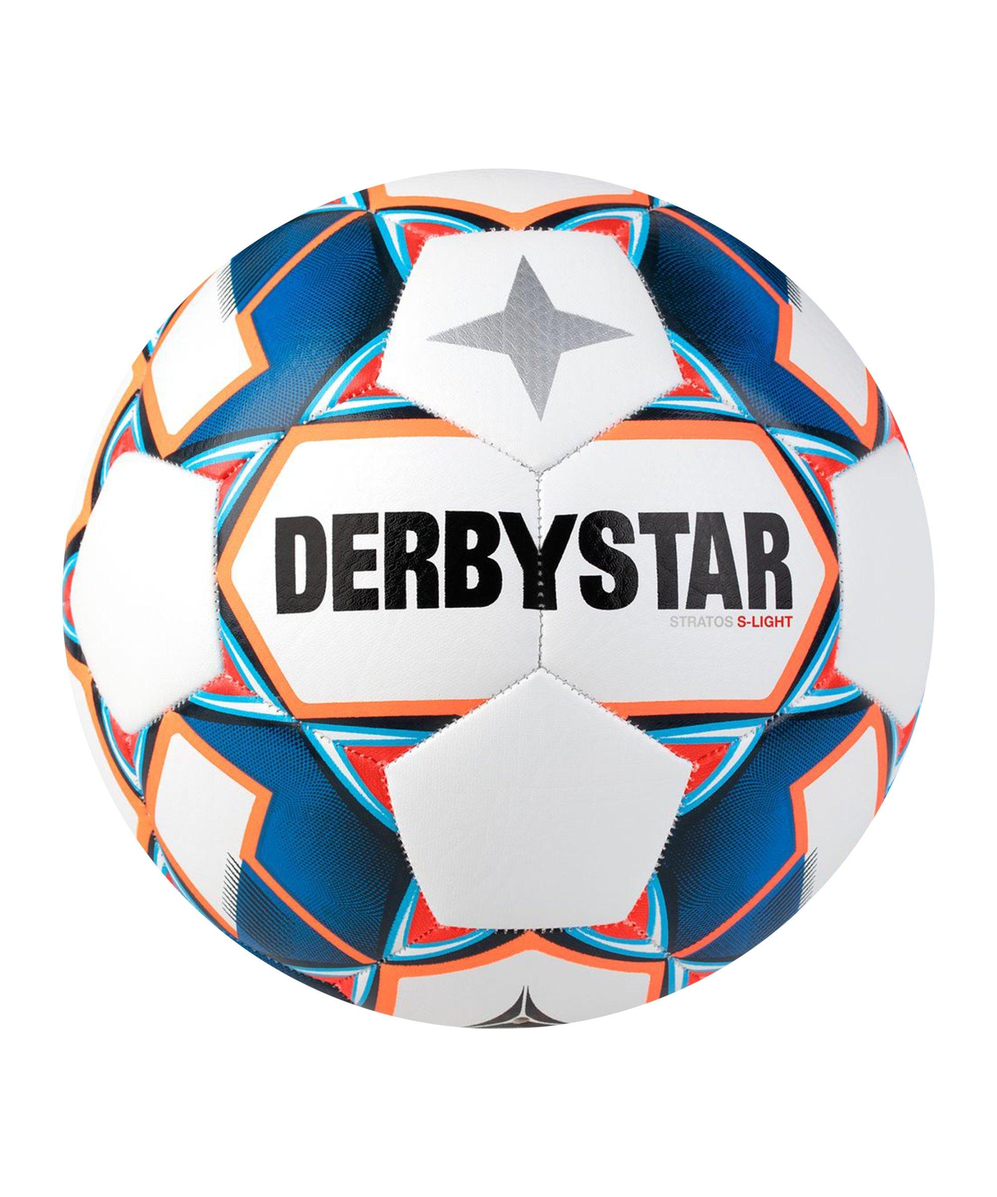 Derbystar Stratos S-Light v20 Trainingsball F167 - weiss