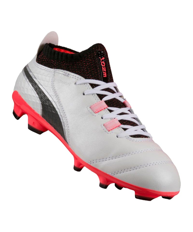 PUMA FG ONE 17.1 Jr Kinder Weiss F01 - weiss