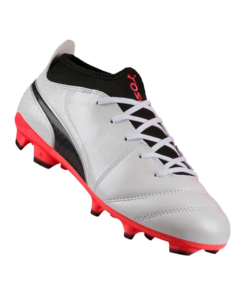 PUMA AG ONE 17.3 Jr Kinder Weiss F01 - weiss