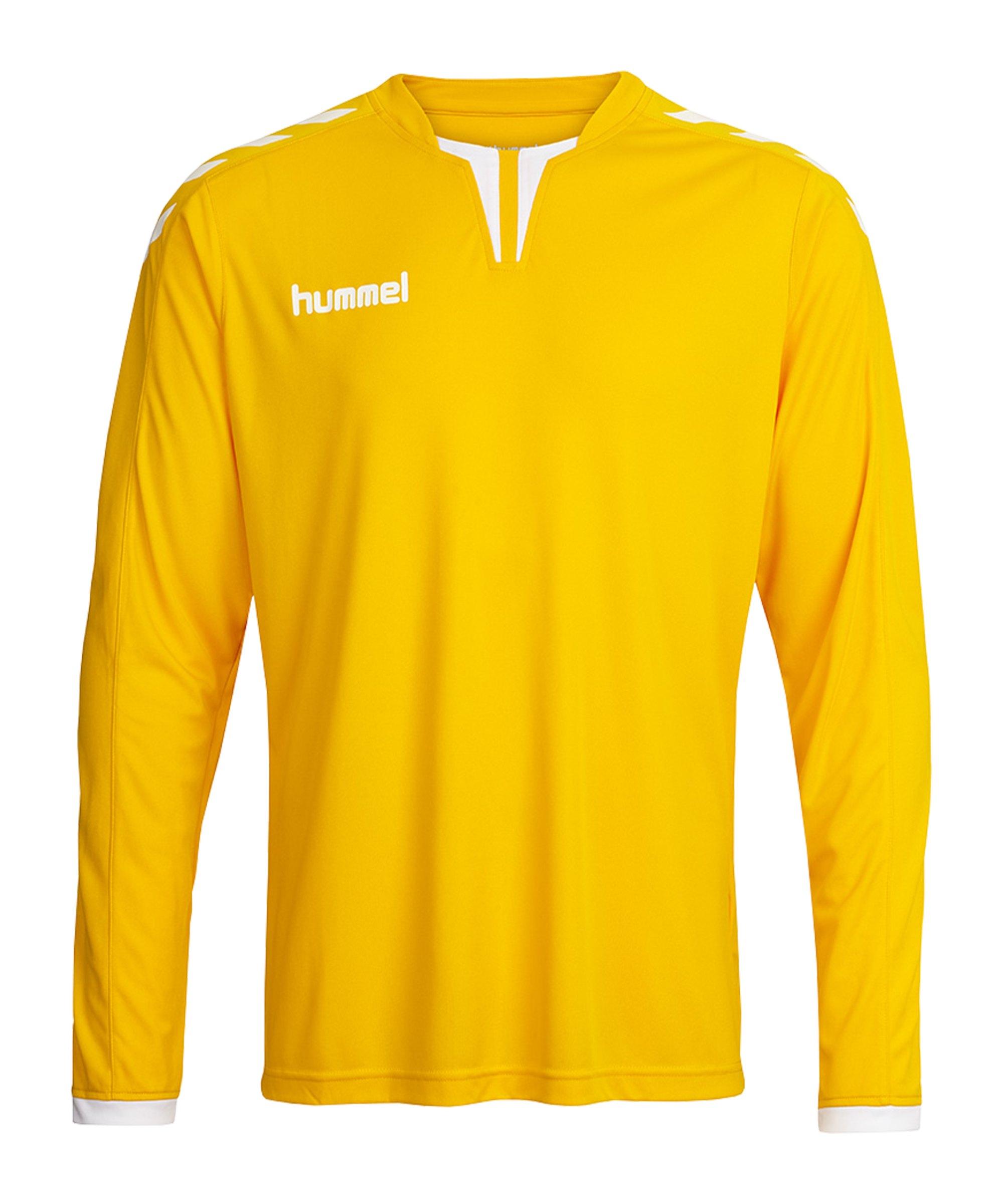Hummel Core Trikot langarm Kids Gelb F5007 - gelb