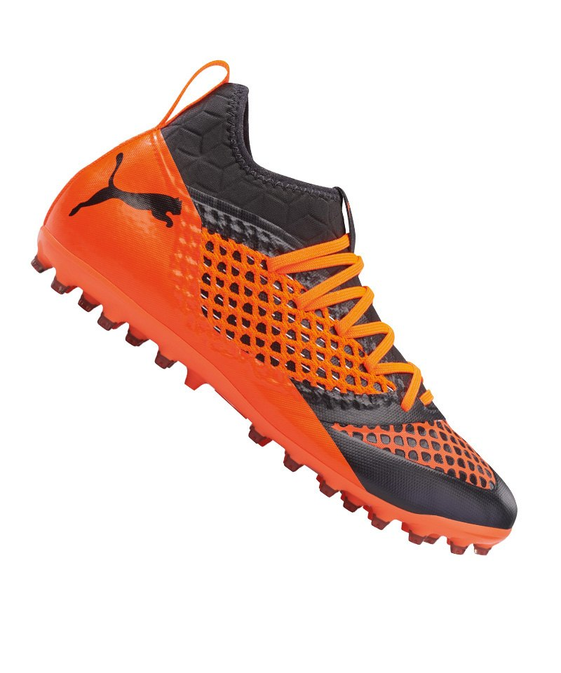 PUMA FUTURE 2.3 NETFIT MG Orange F02 - schwarz
