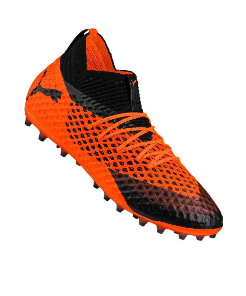 PUMA FUTURE 2.1 NETFIT MG Orange F02 - schwarz