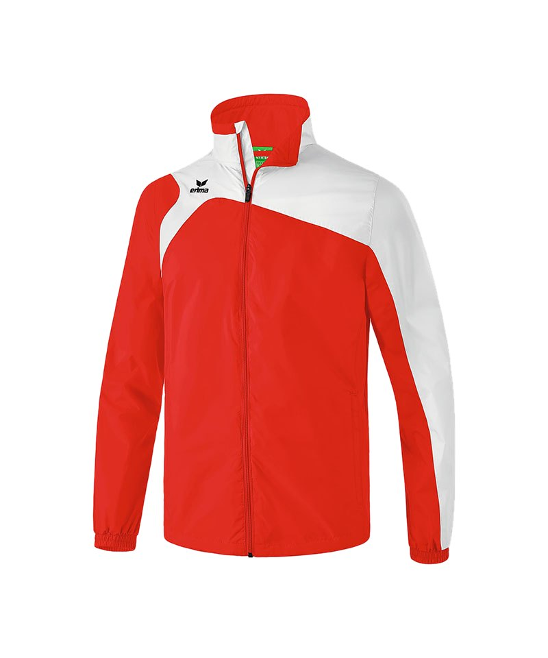 Erima Regenjacke Club 1900 2.0 Kinder Rot Weiss - rot