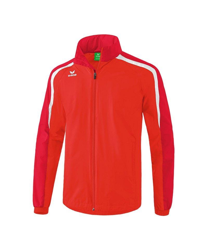 Erima Liga 2.0 Regenjacke Rot Weiss - rot