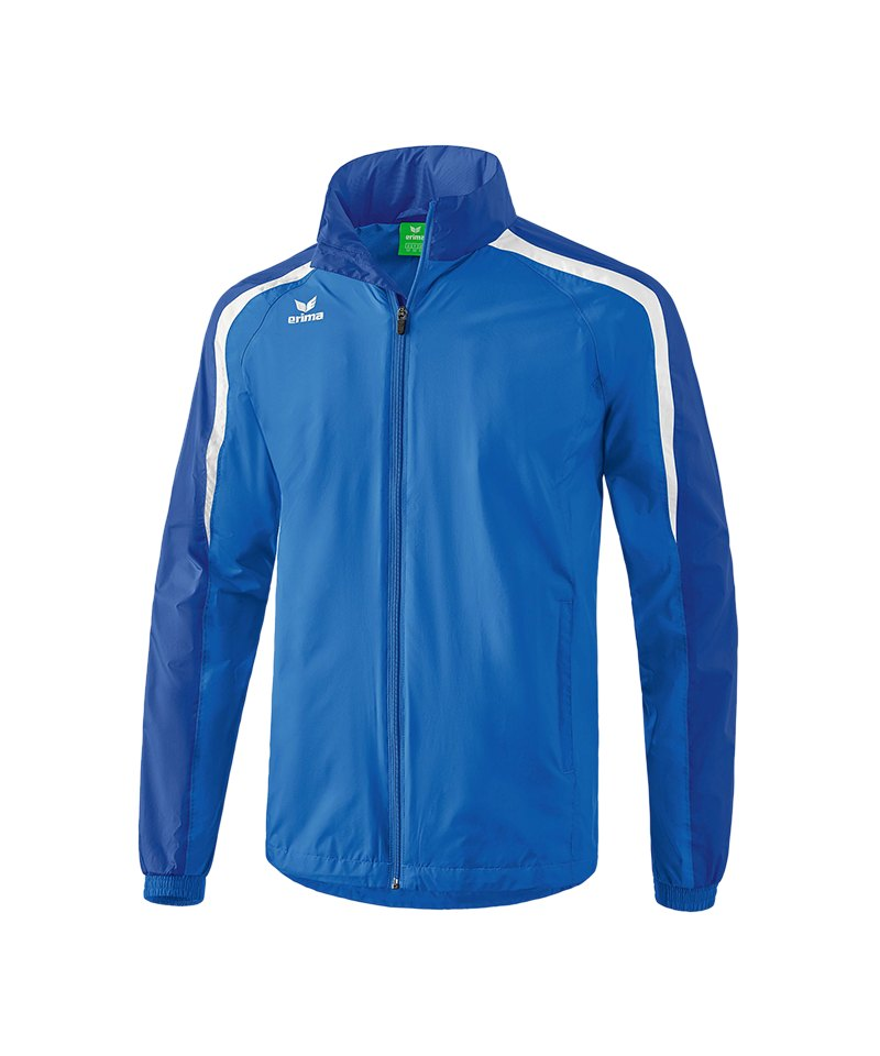 Erima Liga 2.0 Regenjacke Blau Weiss - blau