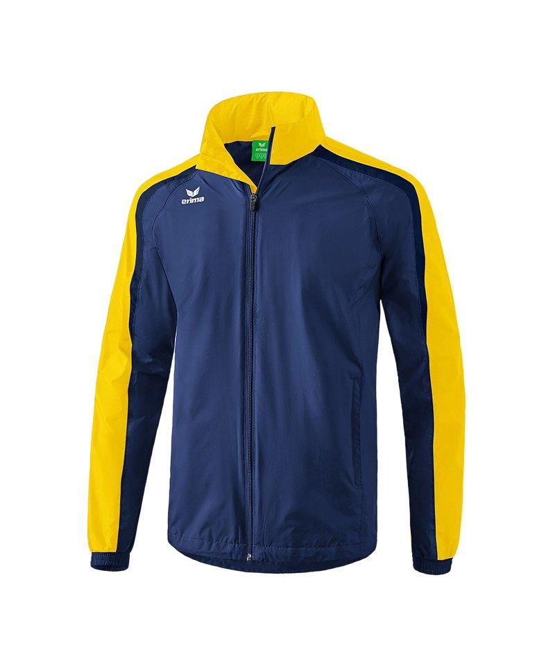 Erima Liga 2.0 Regenjacke Blau Gelb - blau