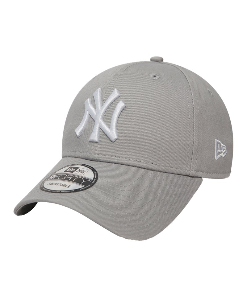 New Era NY Yankees 9Forty Cap Grau - grau