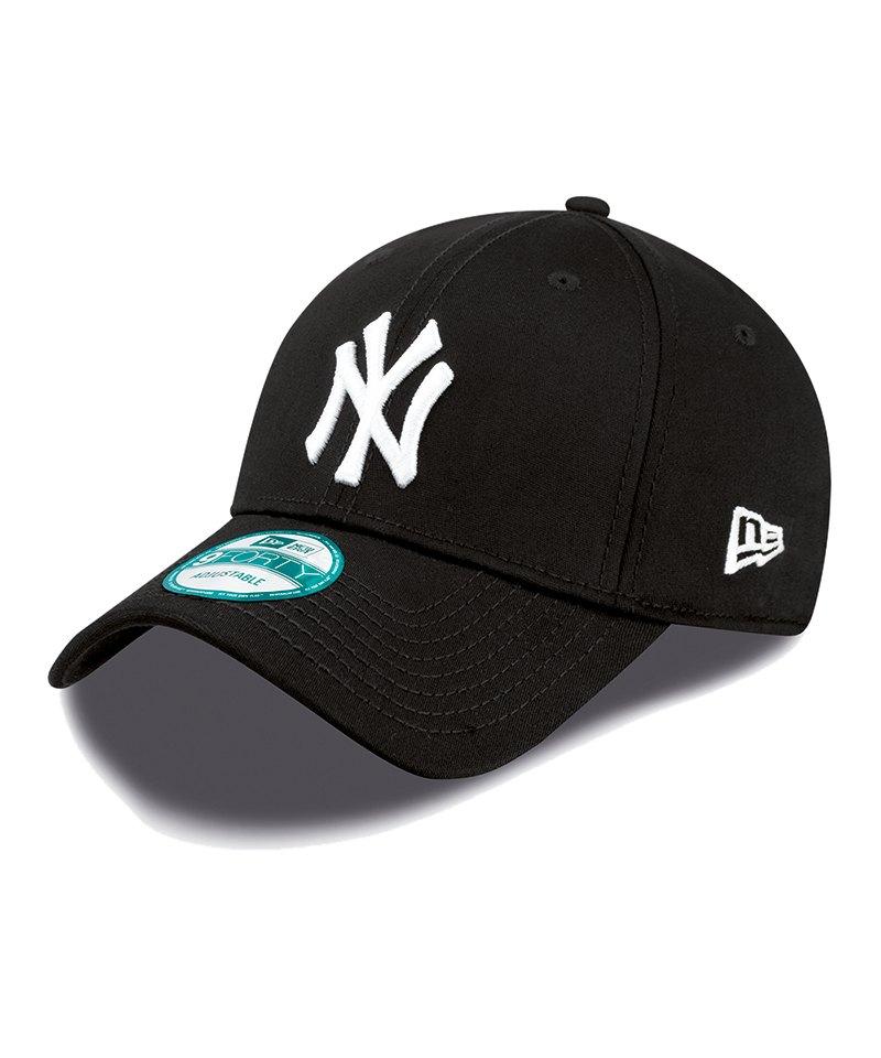 New Era NY Yankees 9Forty Cap Schwarz - schwarz