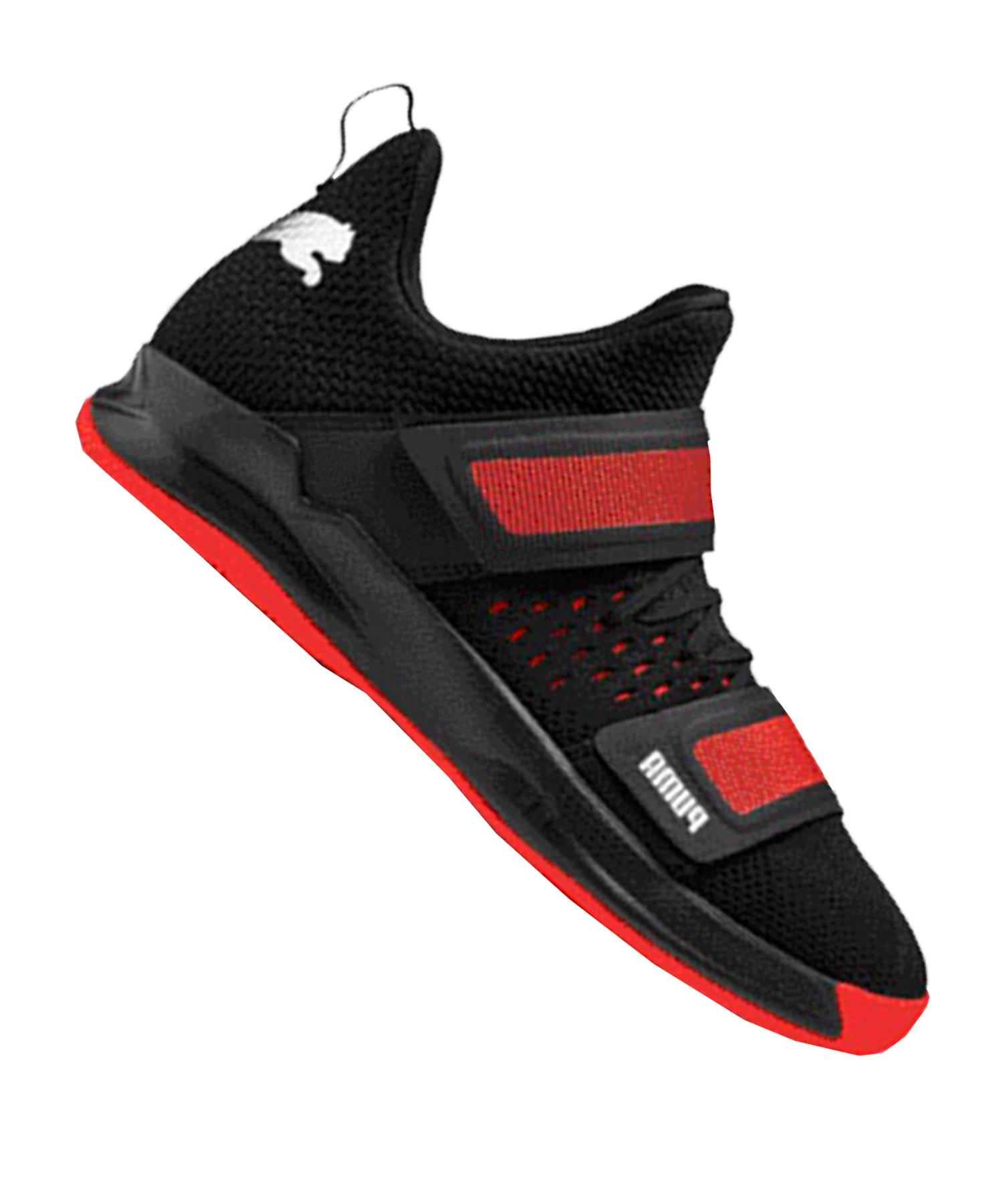 PUMA Ride XT NETFIT 1 Sneaker Schwarz Rot F01 - schwarz
