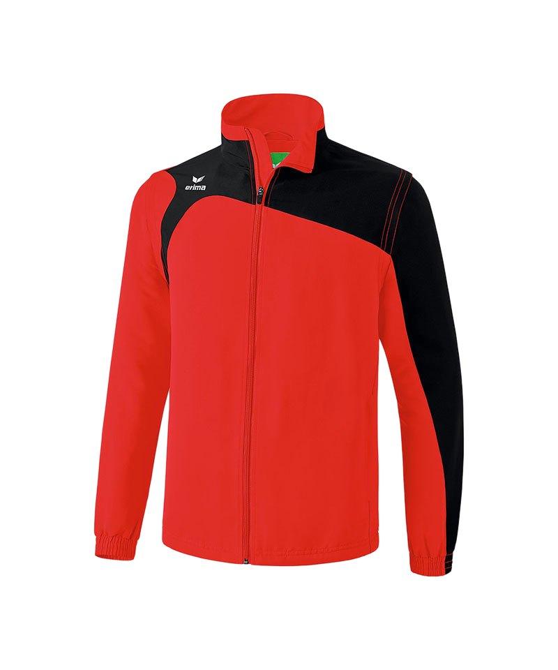 Erima Jacke Club 1900 2.0 Rot Schwarz - rot