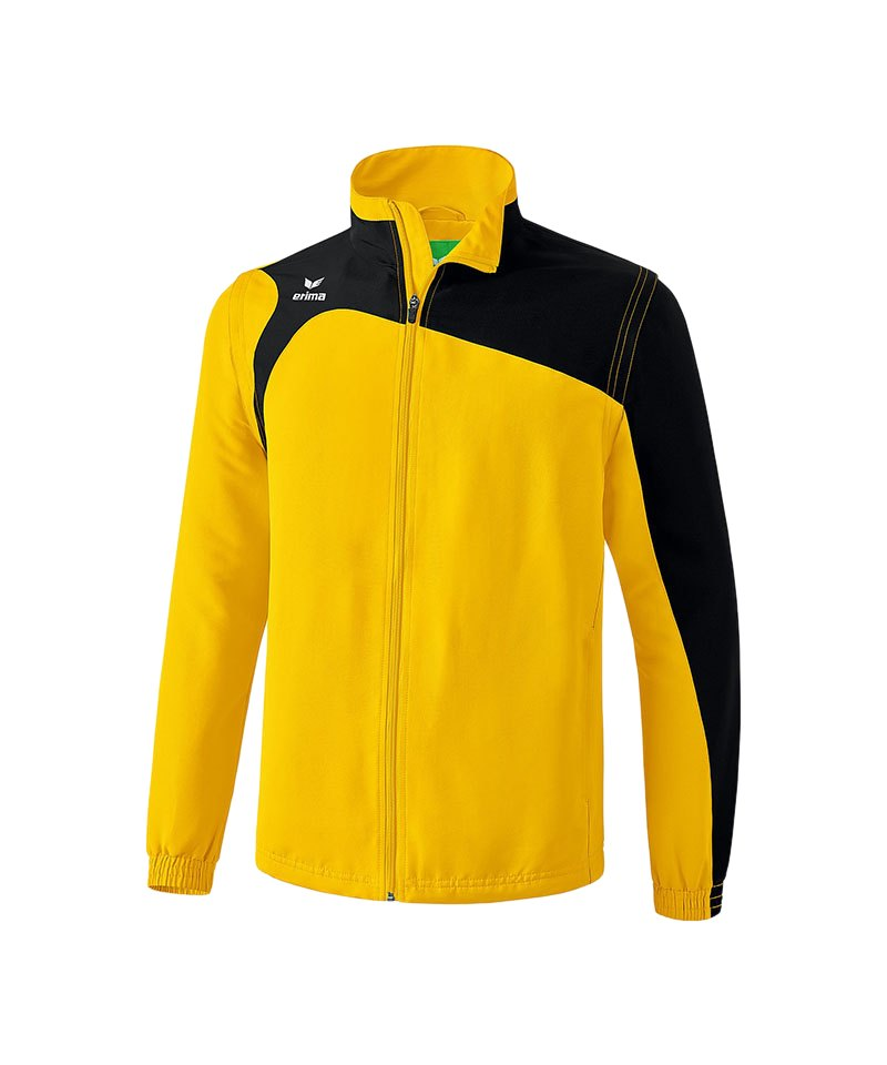 Erima Jacke Club 1900 2.0 Gelb Schwarz - gelb