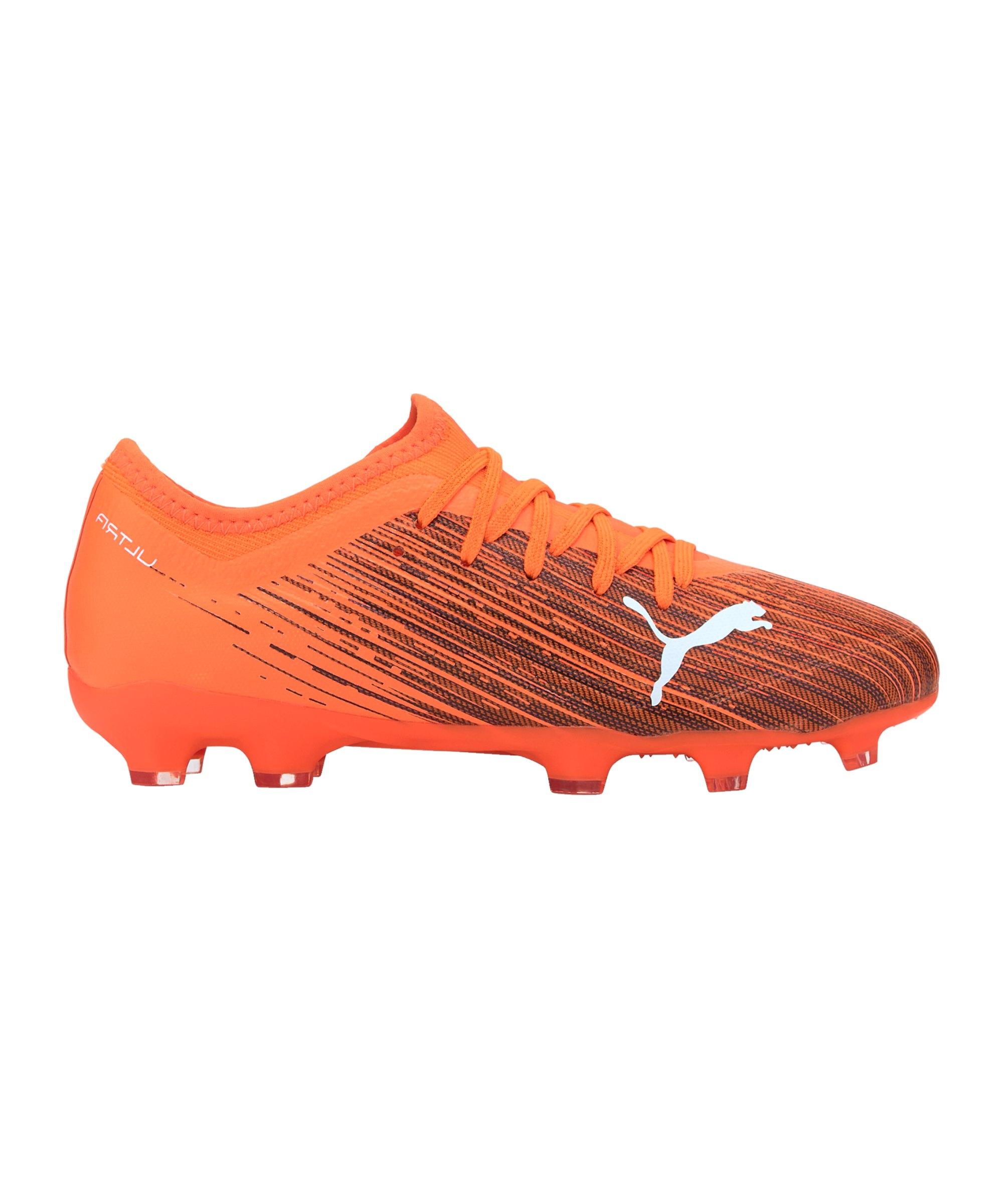 PUMA ULTRA Chasing Adrenaline 3.1 FG/AG Kids Orange F01 - orange
