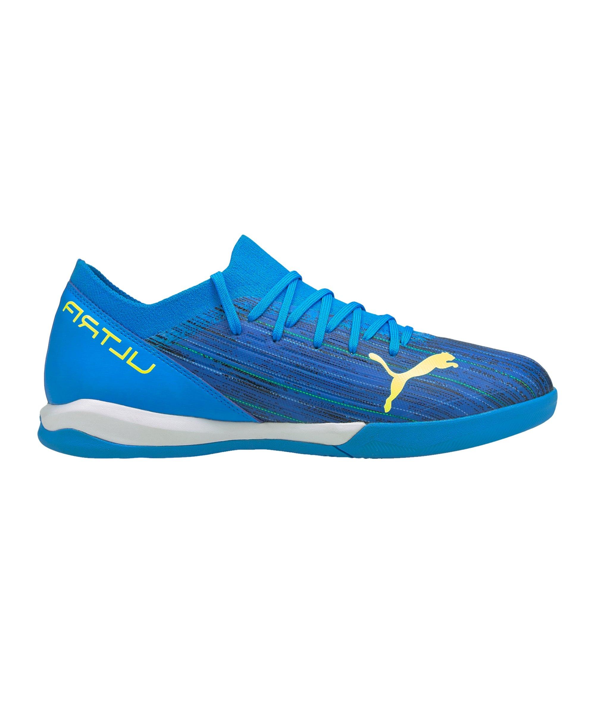 PUMA ULTRA Speed of Light 3.2 IT Halle Blau Gelb F01 - blau
