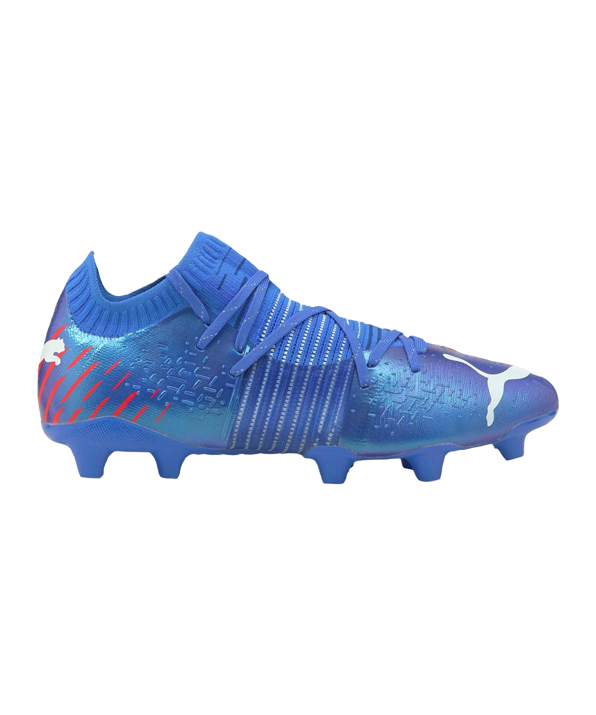 PUMA FUTURE Z 1.2 Faster Football FG/AG Blau Rot F01 - blau