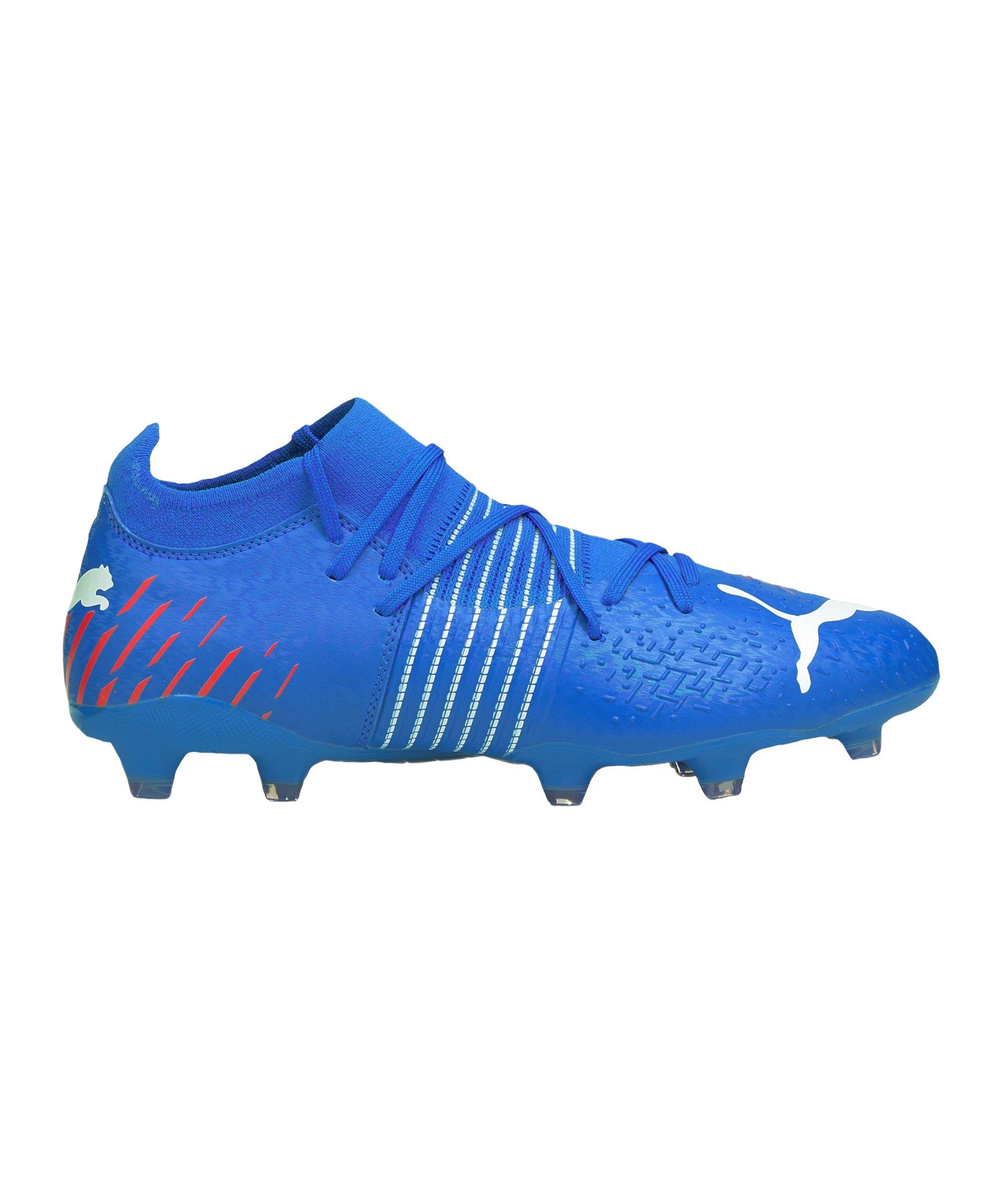 PUMA FUTURE Z 3.2 Faster Football FG/AG Blau Rot F01 - blau