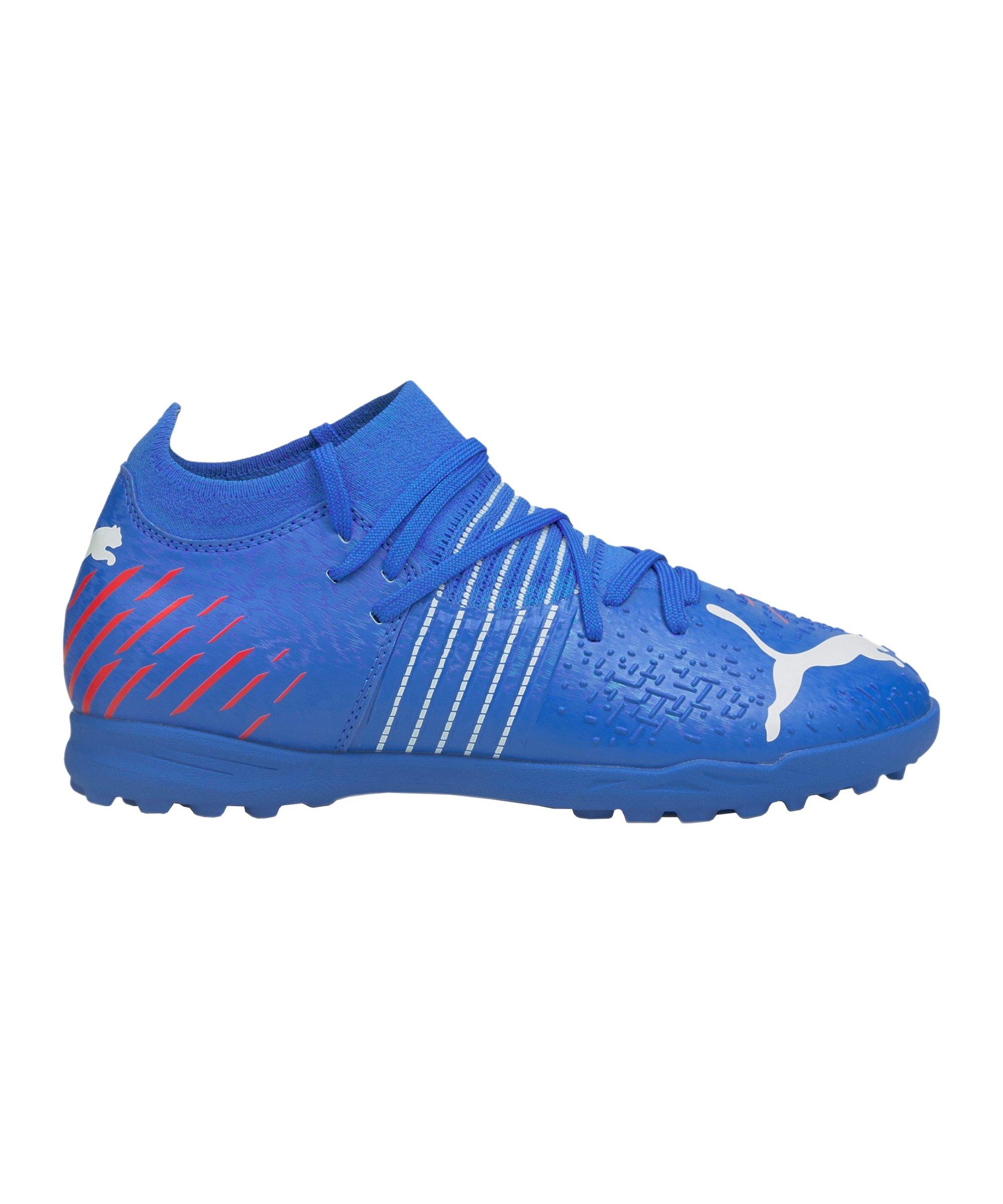 PUMA FUTURE Z 3.2 Faster Football TT Kids Blau Rot F01 - blau