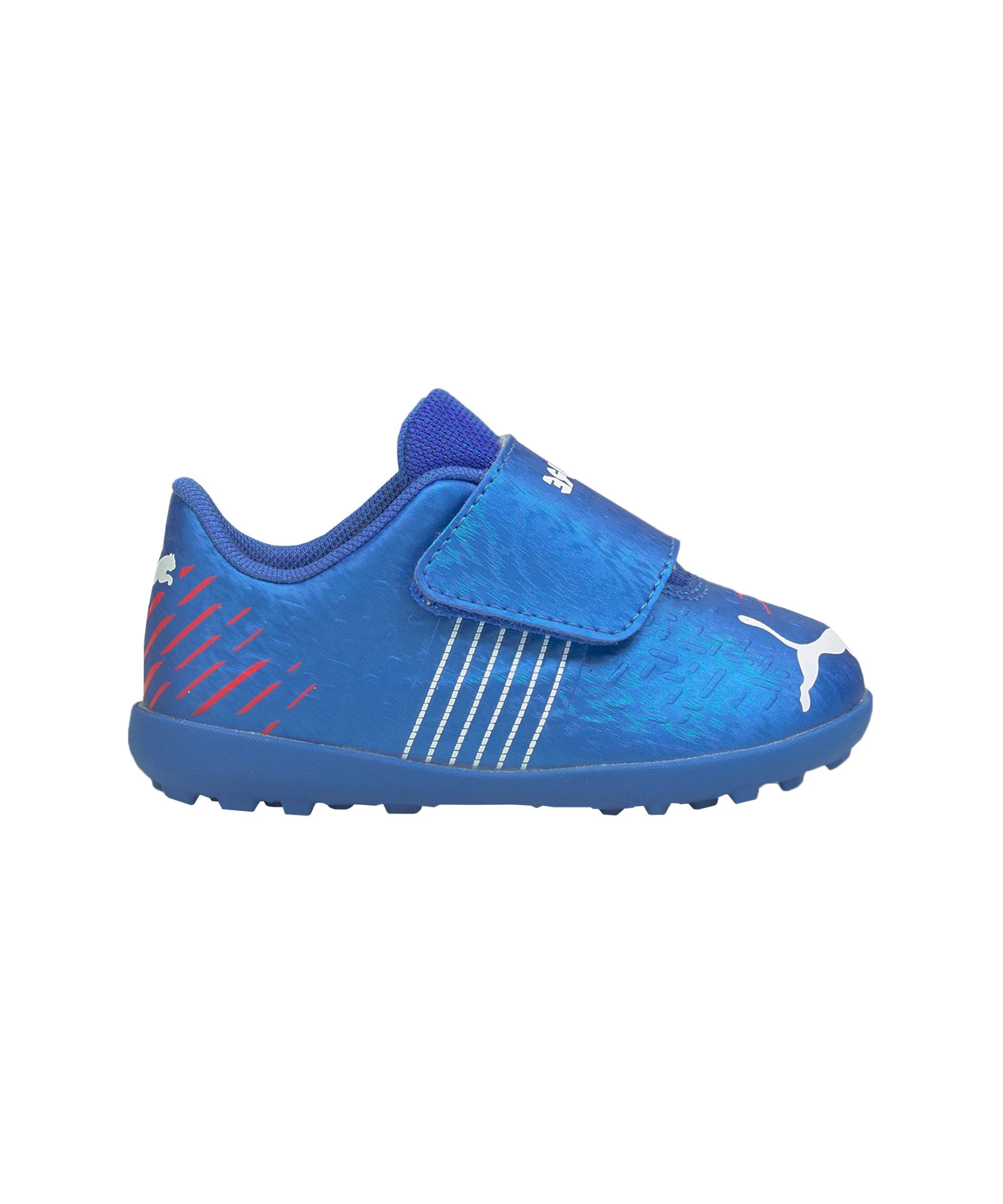 PUMA FUTURE Z 4.2 Faster Football TT V Kids (I) Blau Rot F01 - blau