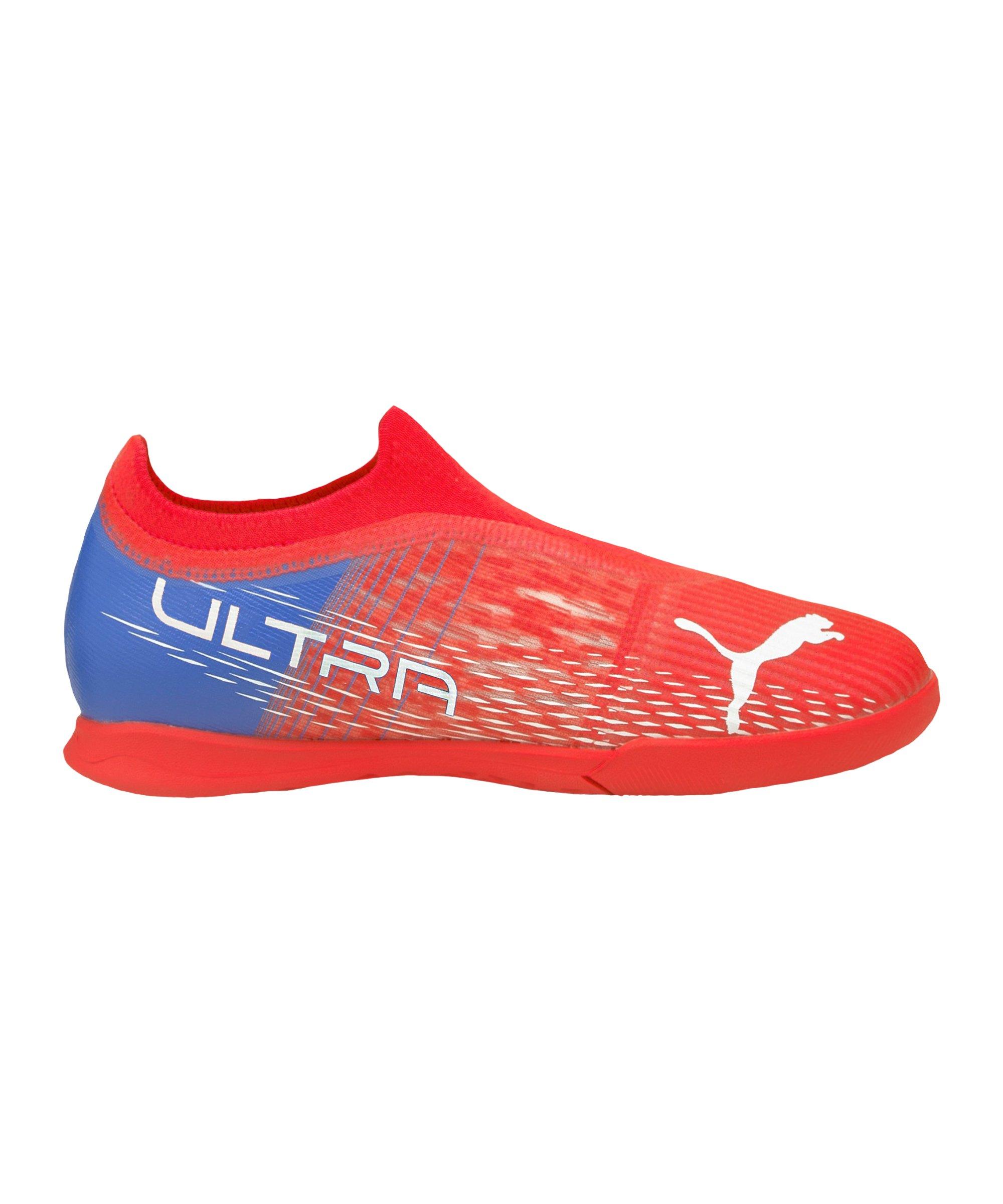PUMA ULTRA 3.3 Faster Football IT Halle Kids Rot Weiss F01 - rot