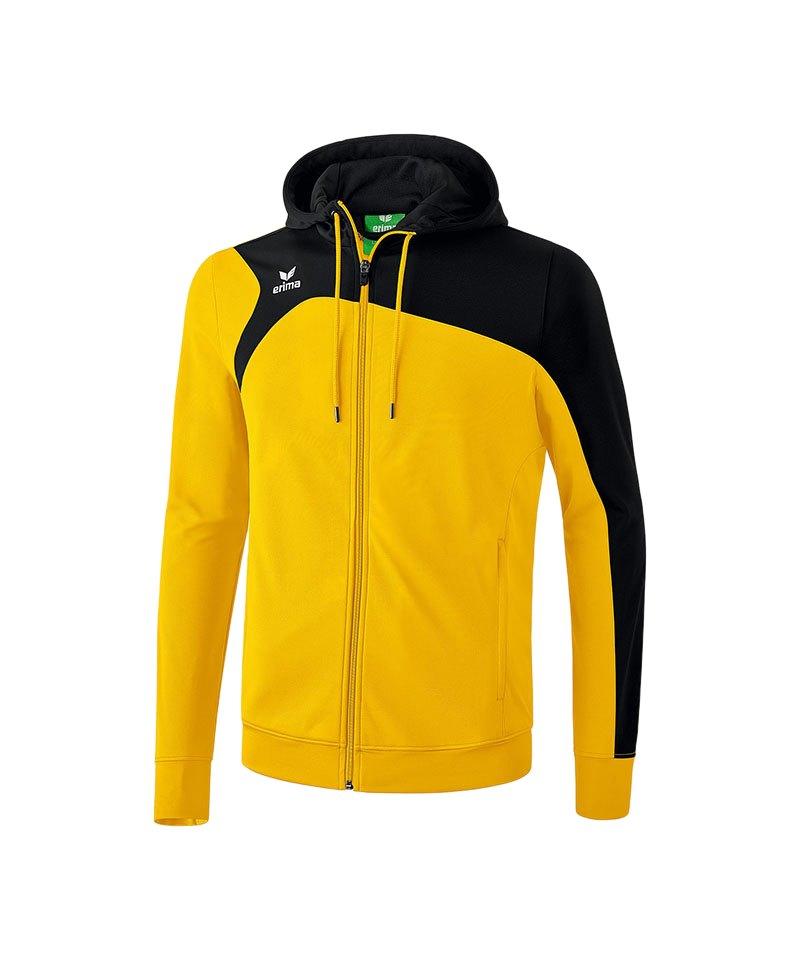 Erima Trainingsjacke Club 1900 2.0 Kinder Gelb - gelb