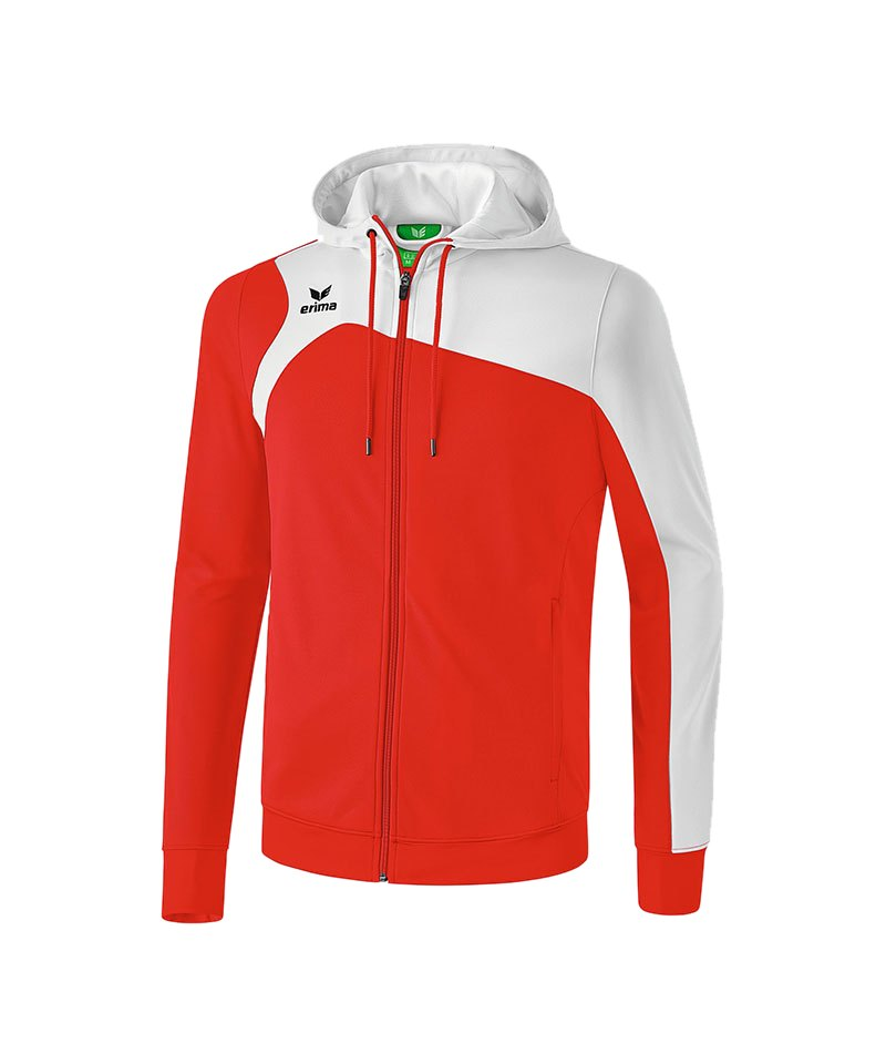Erima Trainingsjacke Club 1900 2.0 Rot Weiss - rot