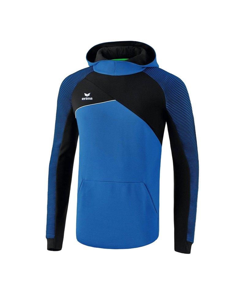 Erima Premium One 2.0 Kapuzensweat Blau - blau