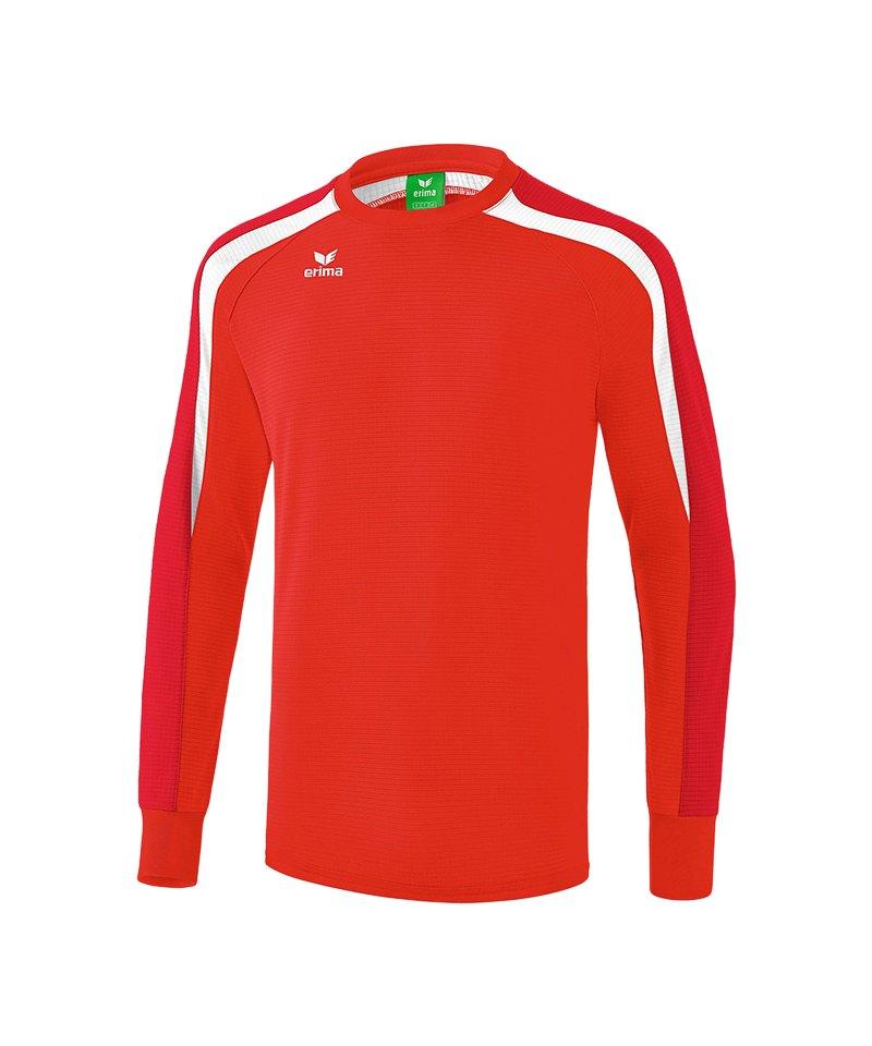 Erima Liga 2.0 Sweatshirt Rot Weiss - rot