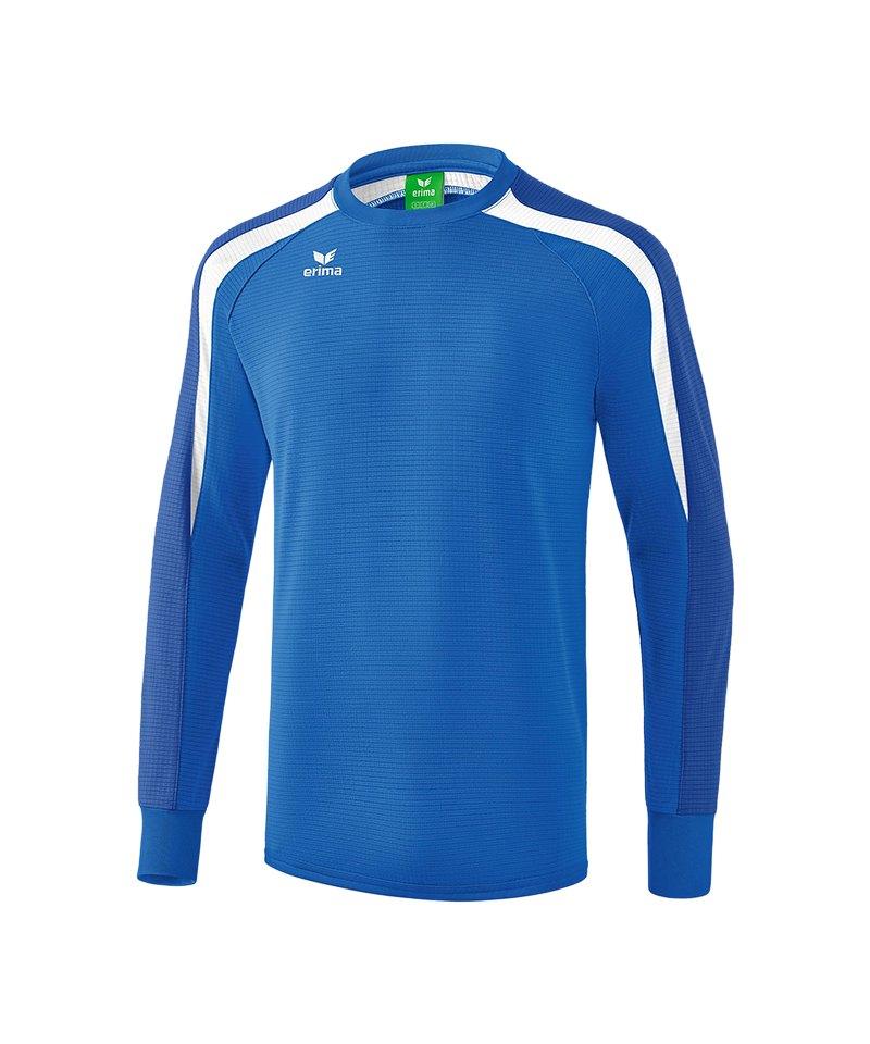 Erima Liga 2.0 Sweatshirt Blau Weiss - blau