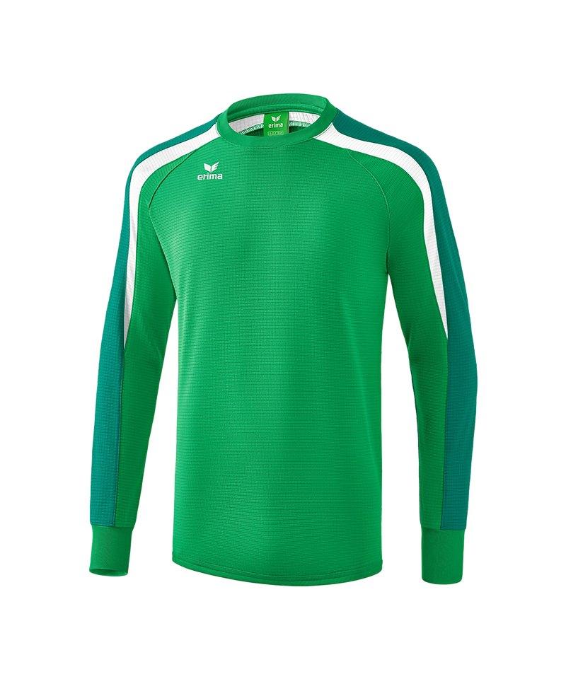 Erima Liga 2.0 Sweatshirt Kids Grün Weiss - gruen