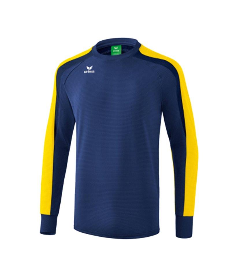 Erima Liga 2.0 Sweatshirt Kids Blau Gelb - blau