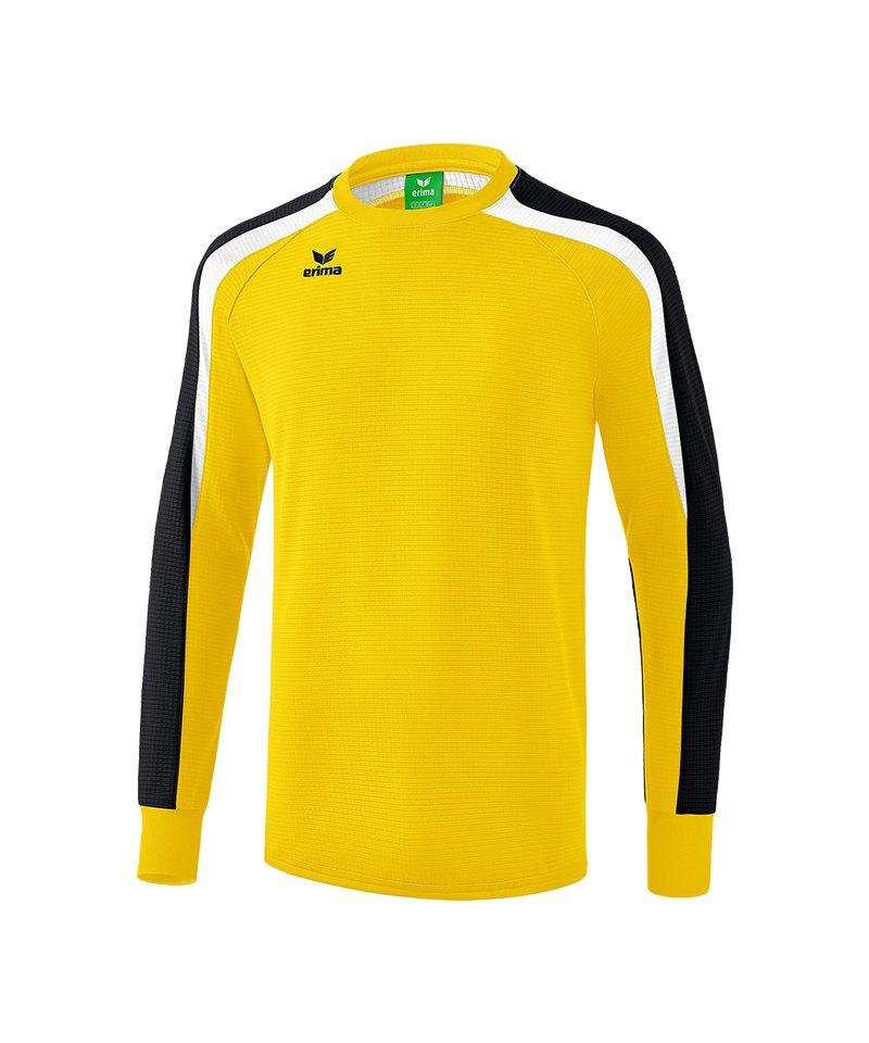 Erima Liga 2.0 Sweatshirt Gelb Schwarz Weiss - gelb