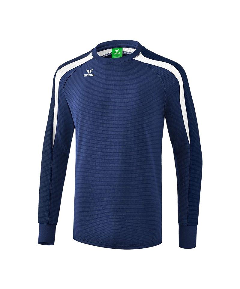 Erima Liga 2.0 Sweatshirt Dunkelblau Weiss - blau