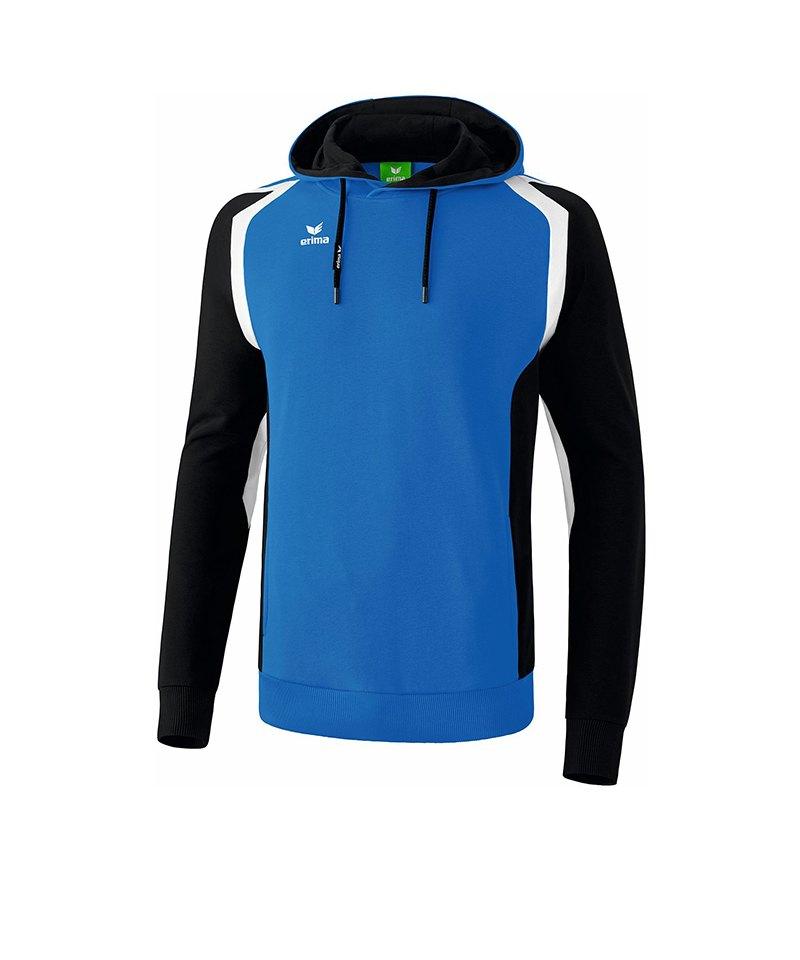 Erima Razor 2.0 Kapuzensweatshirt Kids Dunkelblau - blau
