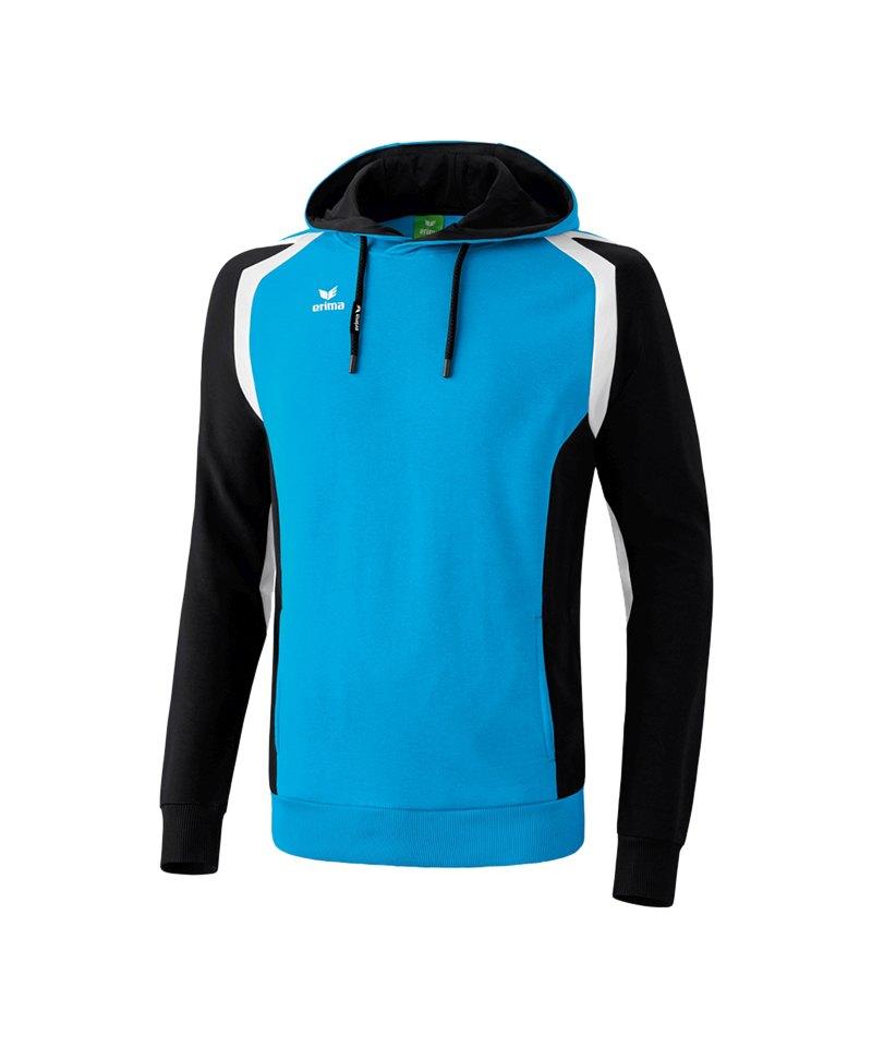 Erima Kapuzensweatshirt Razor 2.0 Blau Schwarz - blau