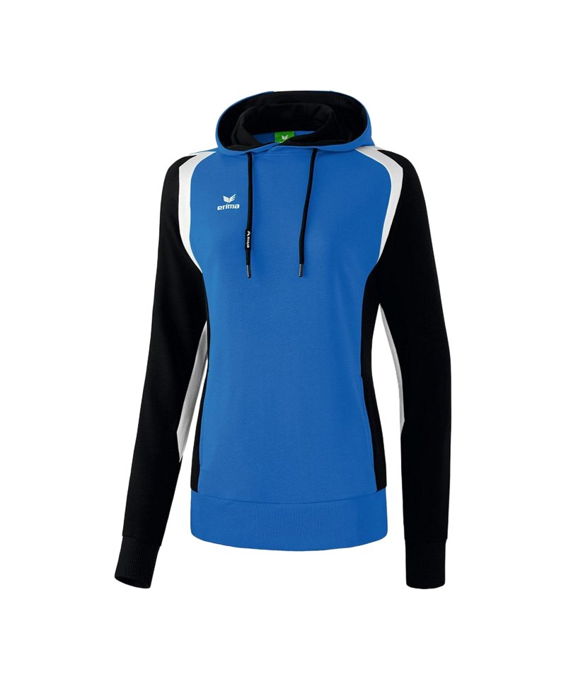 Erima Kapuzensweatshirt Razor 2.0 Damen Blau - blau