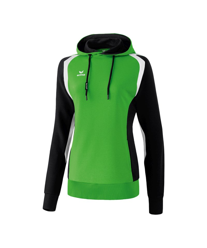 Erima Razor 2.0 Kapuzensweatshirt Damen Grün - gruen