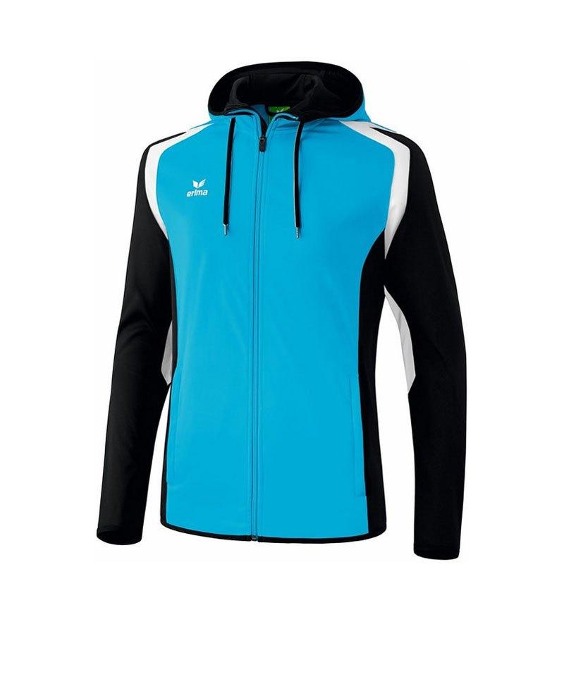 Erima Trainingsjacke Razor 2.0 Hellblau Schwarz - blau