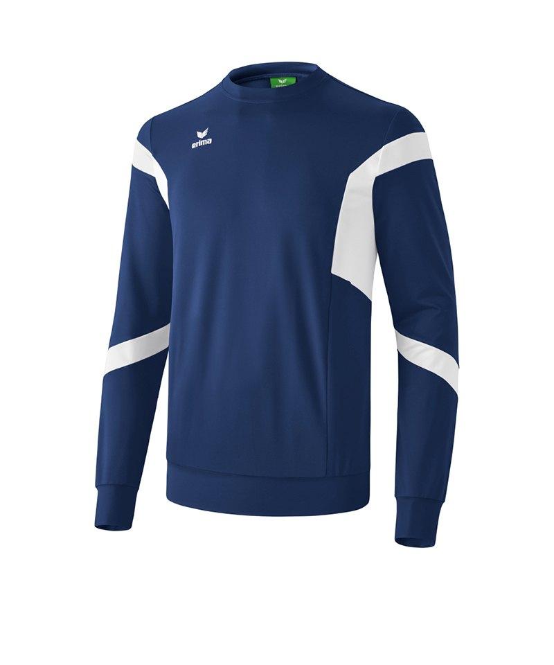 Erima Classic Team Sweatshirt Kids Blau - blau