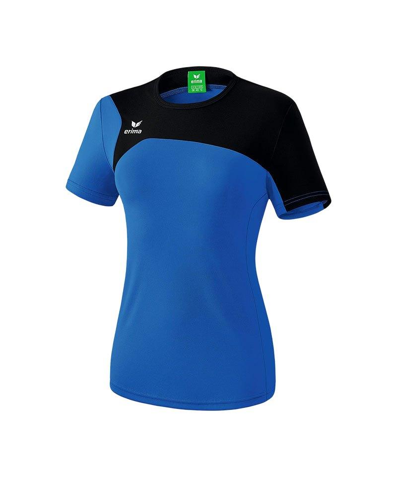 Erima T-Shirt Club 1900 2.0 Damen Blau Schwarz - blau
