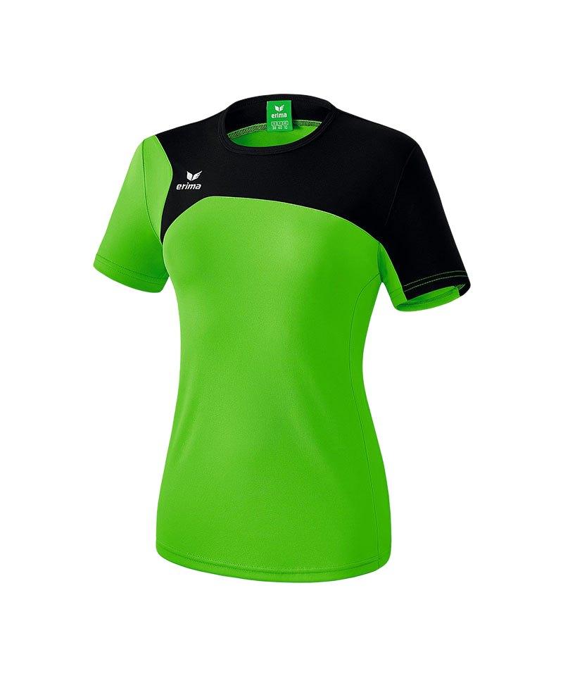 Erima T-Shirt Club 1900 2.0 Damen Grün Schwarz - gruen